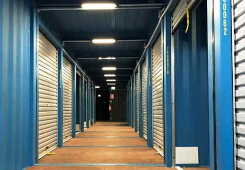 Photo of cheap secure storage in Perth.