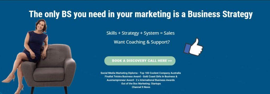 Facebook marketing strategy coach.