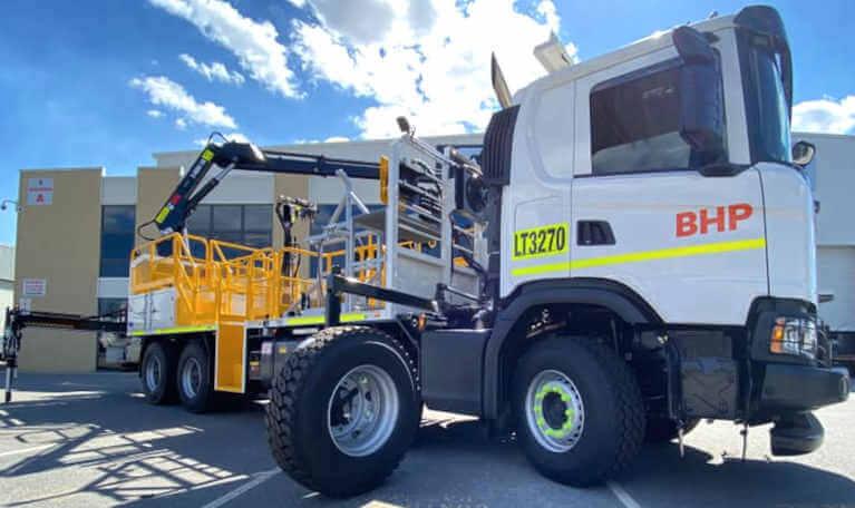 Mining truck upgrade service Perth Western Australia.