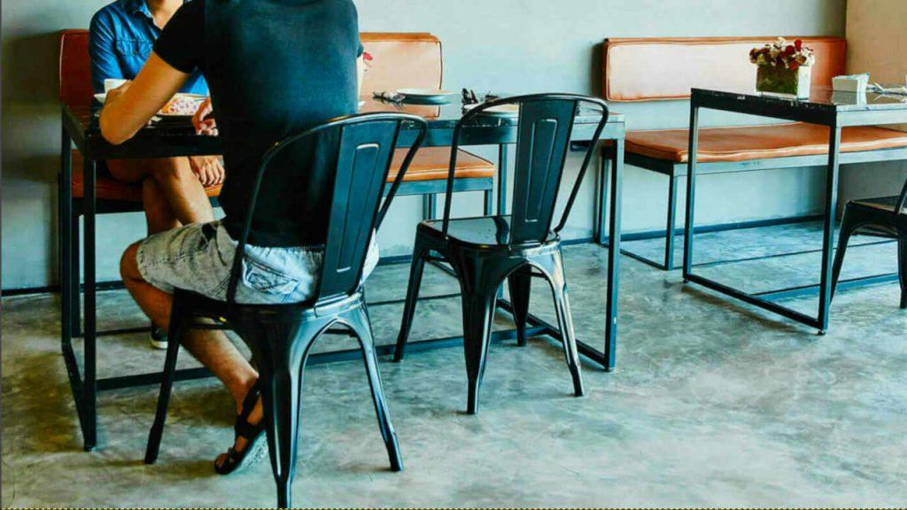 Wholesale price restaurant furniture in Perth.